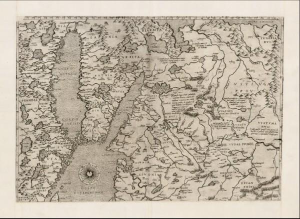 """<div>Допетровский """"Питер"""" и древние энергостанции на карте Гастальди 1562 года?</div>"""